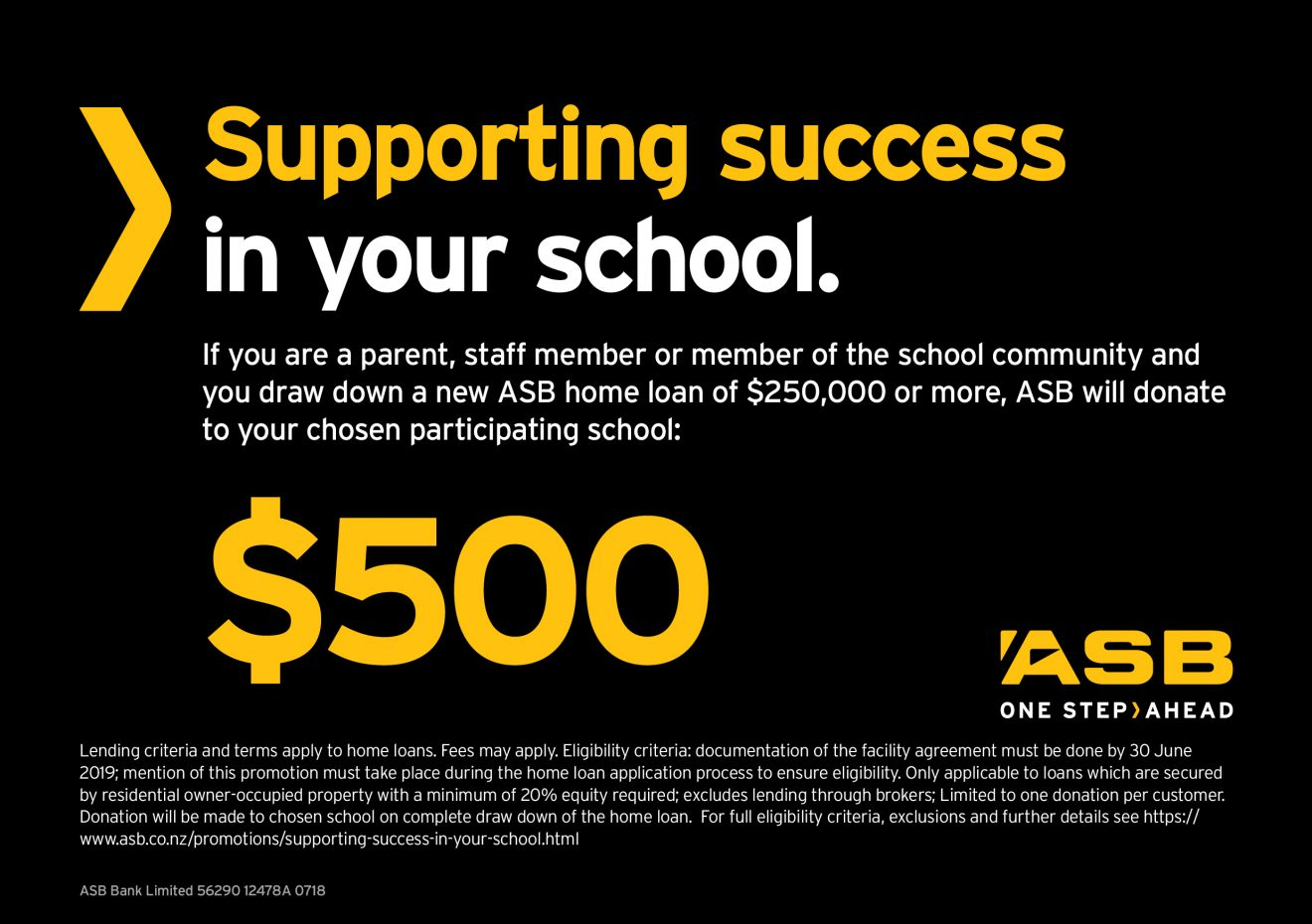 56290 12478A 0718 School Banking Support School Ad A5 PRINT