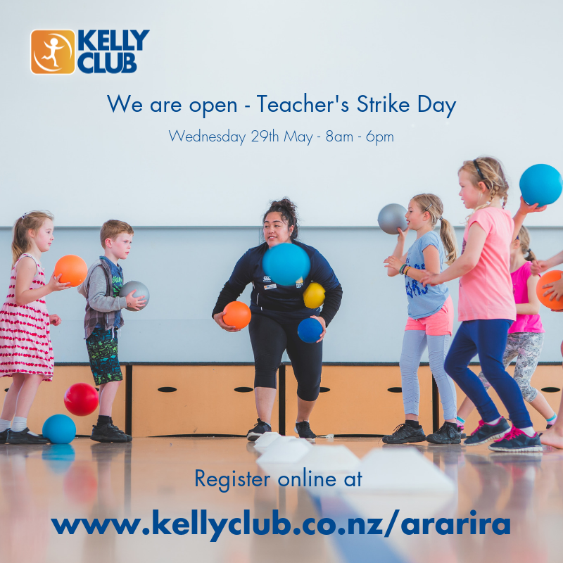 Teacher Strike Day - Wednesday 29th May - KC Ararira