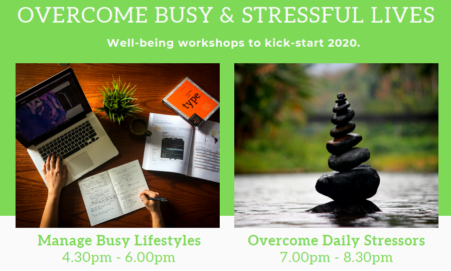 Well-being Workshops 2020 FB Image